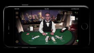 live spelen in een echt casino